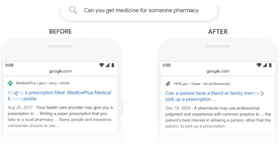 seo cape town pharmacy bert example