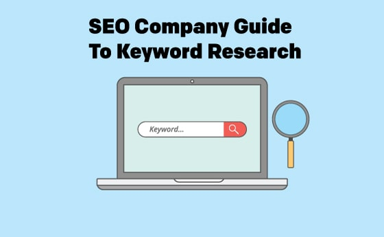 seo company guide to keyword research hero